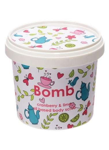 Bomb Cosmetics Cranberry & Lime Vücut Peeling 375g Renksiz